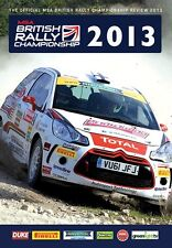 MSA British Rally Championship - Official Review 2013 (New DVD)