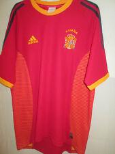 España 2002-2004 Home Football Shirt Tamaño Mediano / 9684