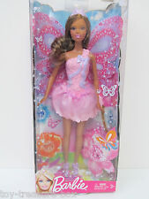 Barbie - Where fashion meets fairytale! - Brown haired doll in Pink - Ages 3+