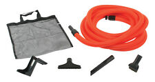 Central Vacuum Garage Kit with 30' Hose and Accessories