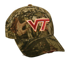Virginia Tech VT Hokies Football Mossy Oak Break Up Camo Deer Hunting Hat/Cap