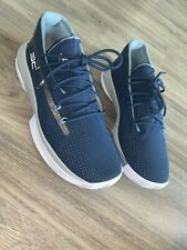 New Under Armour Curry 5's mens shoes 9.5 - Navy