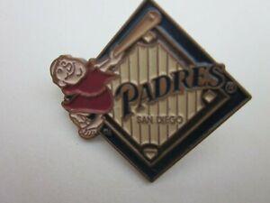 1996 San Diego Padres Swinging Friar Mascot Logo Pin