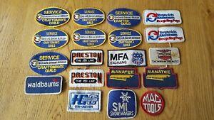 Vintage Detroit Diesel Allison & Other Badges/Patches Bundle....Sew On/Iron On..