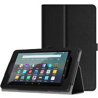 Slim Folding Case for All-New Amazon Fire 7 Tablet 7th Gen 2017 / 8th Gen 2018