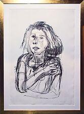 Oskar Kokoschka (1886-1980): Ruth III Lithographie 1922 signiert, 84 x 56 cm