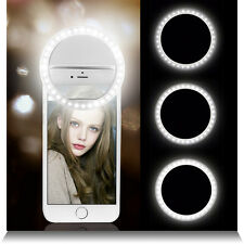 Selfie 36 LED Ring Flash Fill Light Clip Camera Portable For iPhone Mobile Phone