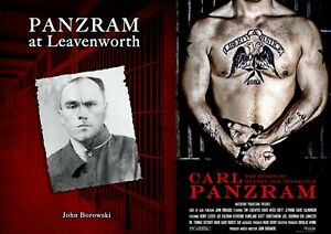 CARL PANZRAM SERIAL KILLER CRIME BOOK AND DVD COMBO - BRAND NEW - FREE SHIPPING