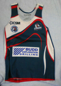 #VV1. SMALL COBAR JUNIOR  RUGBY LEAGUE PLAYER'S TRAINING TOP