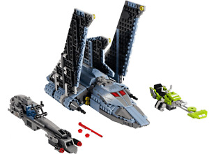LEGO:Star Wars The Bad Batch Attack Shuttle Only from 75314. No minifigures.