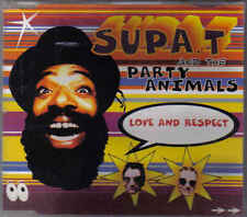 The Party Animals and Supa T-Love And Respect cd maxi single 5 tracks