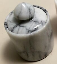 Stone Marble Granite Round Trinket Box