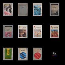 Lot de 11 livres Meney Teilhard de Chardin De Preneuf Galbraith König Linssen