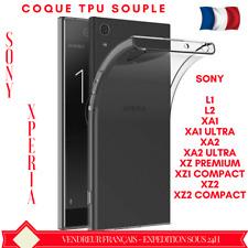 COQUE SONY XPERIA XA1/2/XZ HOUSSE TPU SILICONE GEL SOUPLE ULTRA SLIM PROTECTION