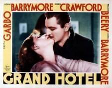 Grand Hotel Poster Greta Garbo John Barrymore OLD MOVIE PHOTO