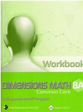 Singapore Discovering Math CSSS Workbook 8A - FREE Expedited Upgrade W $45