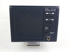 "ICOM SP-23 Base Station External Speaker 8 ohms 2x1/8"" Audio Inputs"