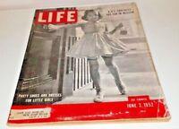 June 2, 1952 LIFE Magazine Hitler's EAGLES 50s Advertising ads FREE SHIP 6 3 1 4