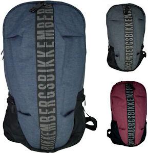 Zaino Borsa Uomo Donna Bikkembergs Backpack Bag Men Woman Db-Zip Big BackPack...