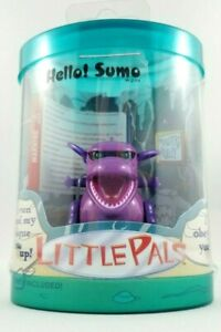'LittlePals' SUMO Purple Micropets - NEW in Package- Replica Tomy 2002 Micropet