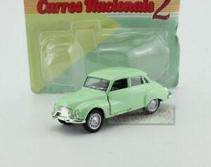1:43 Carros Brasileiros Nacionais Vemag 1962 BRAZIL VINTAGE DIECAST