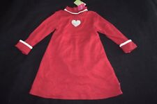 Girls Gymboree Tiger Love Club Dress Size 3 3T Red Heart Vintage 2004 2 pc Set