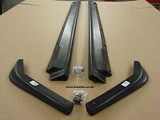 SUBARU Impreza Blobeye / Hawkeye WRX 03-07 Side Extensions & Rear Lips. PU