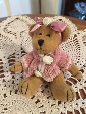 Bearington Bear Collection Knitted Pink Sweater 5""