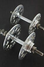 Vintage 1940's BH Airlite Bicycle Wheel Hubs 40/32. Fixed/freewheel. Regreased.