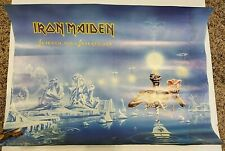 Iron Maiden Seventh Son of a Seventh Son 1988 Poster