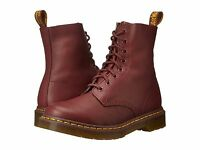 Women's Shoes Dr. Martens Pascal 8 Eye Boots 13512411 Cherry Red Virginia *New*