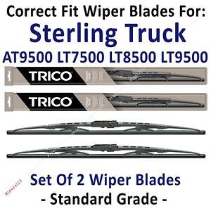 Wipers 2pk Standard fit 99-08 Sterling Truck AT9500 LT7500 LT8500 LT9500 30200x2