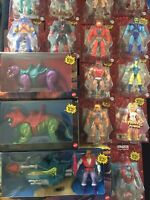 HUGE MASTERS OF THE UNIVERSE ORIGINS LOT He-Man Action Figures Land Shark MOTU *