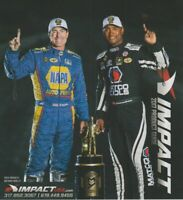 2017 Antron Brown + Ron Capps Impact NHRA Fold-Out Product Guide