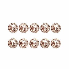 0.08 Carat NATURAL Brownish PINK DIAMOND LOOSE for Setting Round 10pcs 1.2x0.70
