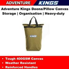 Canvas Pillow Storage Bag Kings Travel Carry Bag Camping Outdoor Hiking