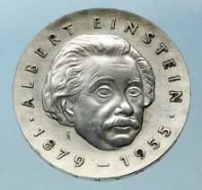 1977 GERMANY Scientist ALBERT EINSTEIN Science Physics 5 Mark German Coin i83804