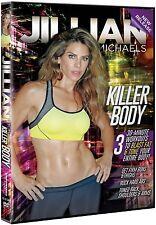 Jillian Michaels: Killer Body [DVD, 30-Minute Workout, Region 0, 1-Disc] NEW