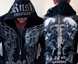 Rush Couture - Rush Men's Black Hoodie