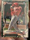 2021 Bowman Prospects Alexander Ramirez RC⚡️CAMO PARALLEL⚡️1st Angels