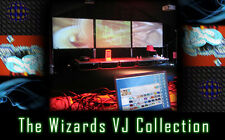 Wizards VJ Collection - 300+ Clips. Movies Full 3D Render Video Editing Footage