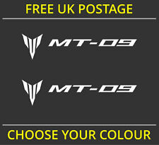 2x Yamaha MT-09 / MT09 Fairing Decal Stickers Motorcycle Vinyl Cut