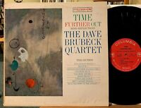 Dave Brubeck Quartet Time Further Out Vinyl LP Columbia 2-Eye CL 1690 Mono VG+