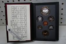 1994 proof coin set Canada 94 double dollar RCMP dog sled patrol