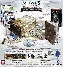 Assassin's Creed Brotherhood Codex Limited Collector's Edition Xbox 360 ITA