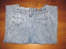 Vintage 80's Lee Acid Wash Womens Size 18 High Waist Mom Jeans