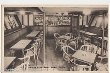 General Steam Navigation Co., Royal Eagle Cocktail Bar Shipping Postcard, B524