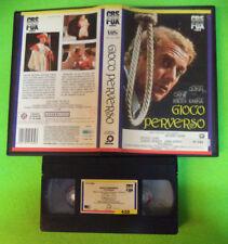 VHS Film GIOCO PERVERSO 1988 Anthony Quinn Michael Caine CBS FOX (F200) no dvd