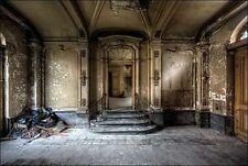 Ivo Sneeuw: Chateau Venetia Keilrahmen-Bild Leinwand Interieur lost places