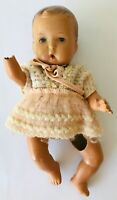 """Old Composition Baby Doll Germany Steiner & Hauser Steha Mark 10.5"""" Needs Repair"""